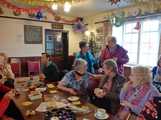 Christmas 2016 celebrations at the New Inn